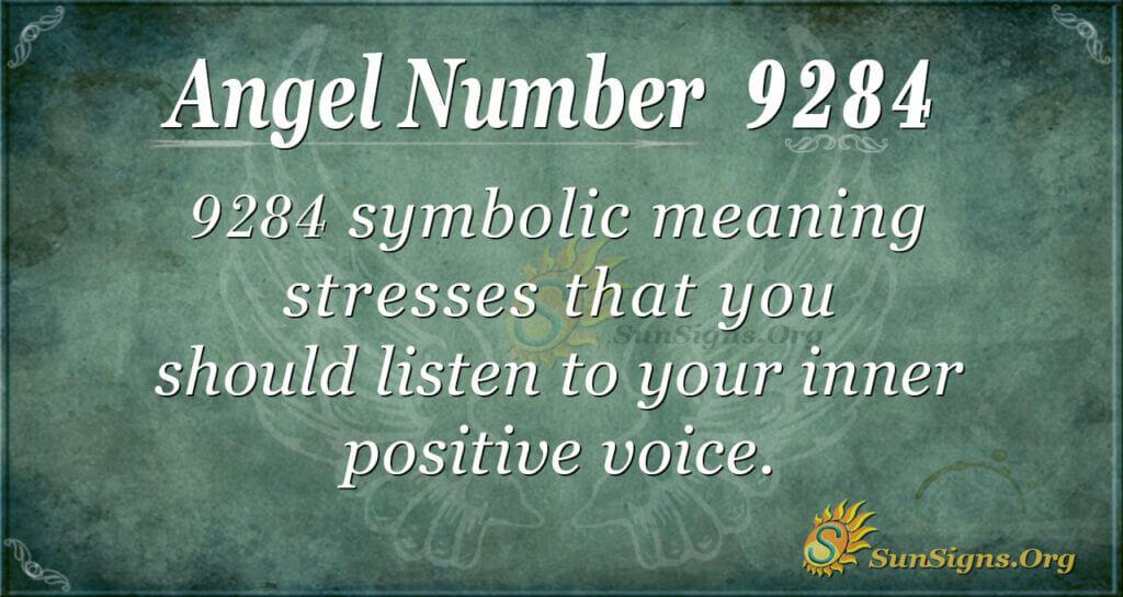 9284 angel number