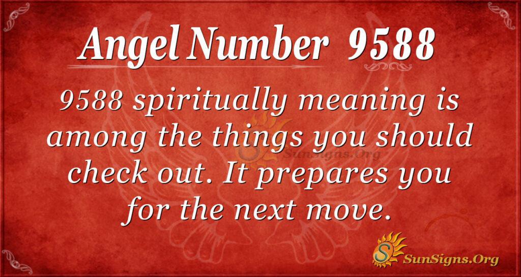 9588 angel number