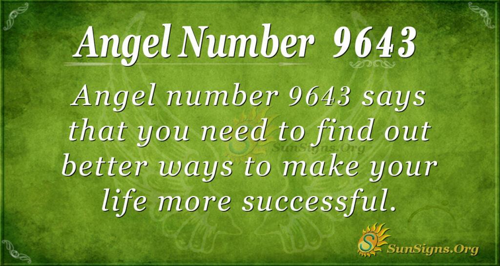 9643 angel number