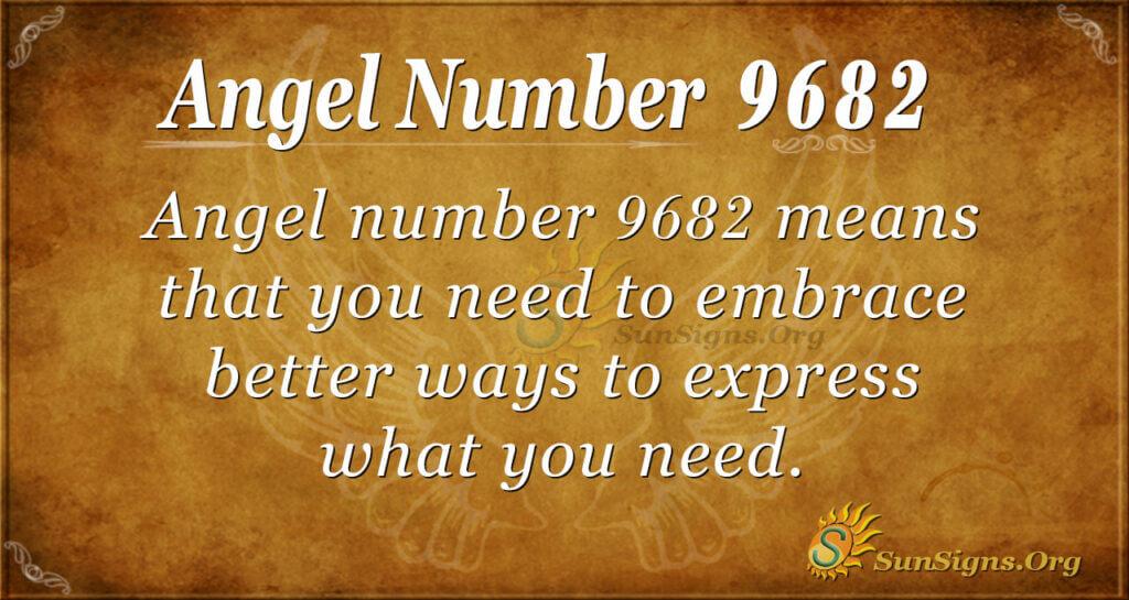 9682 angel number