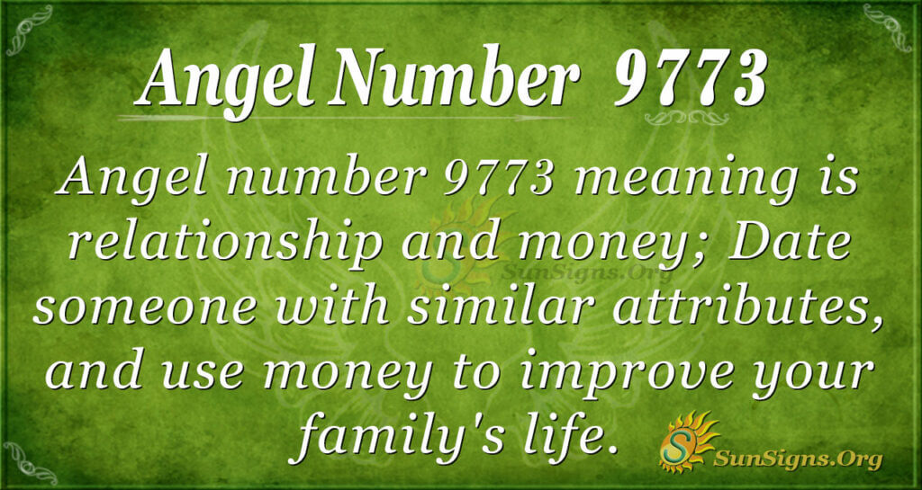 9773 angel number