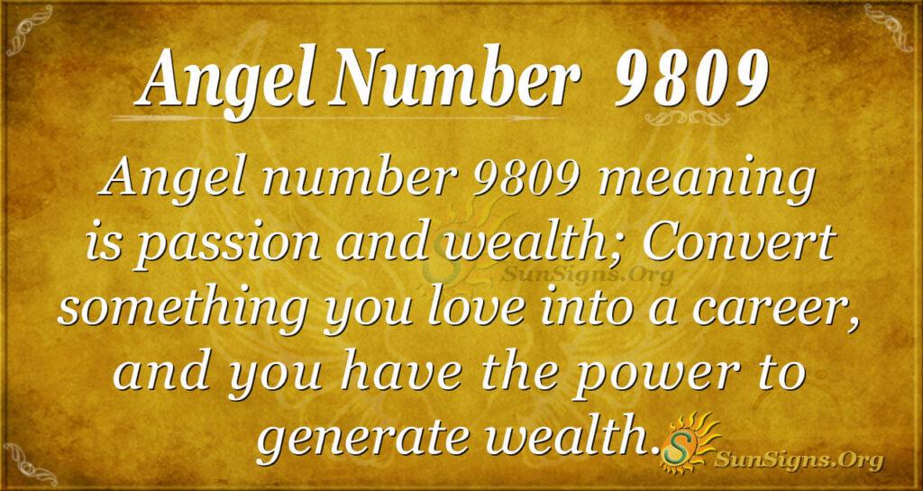 9809 angel number