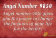 9850 angel number
