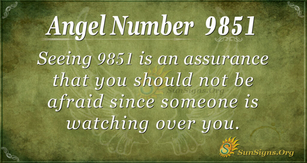 9851 angel number