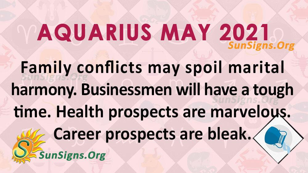 Aquarius May 2021