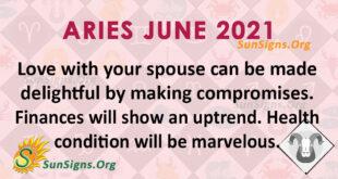 Aries June 2021