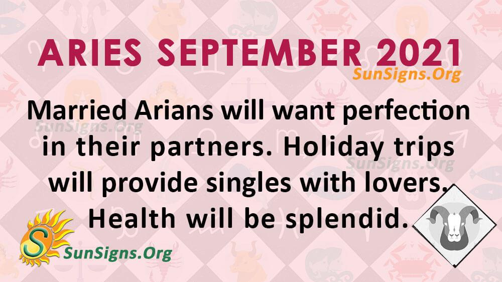 Aries September 2021