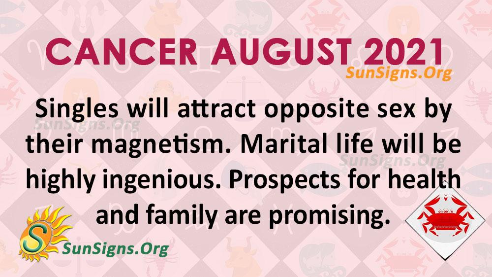 Cancer August 2021