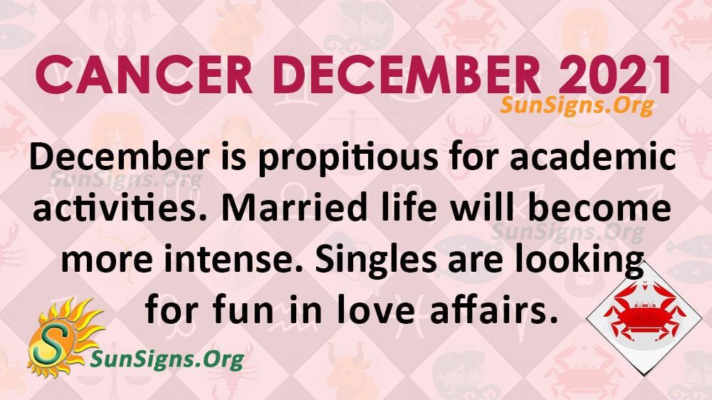 Cancer December 2021