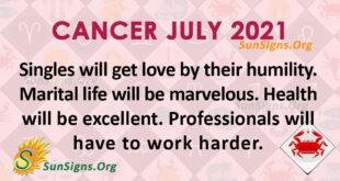 Cancer July 2021
