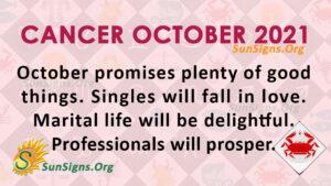 Cancer October 2021