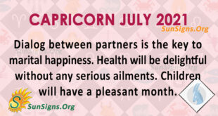 Capricorn July 2021
