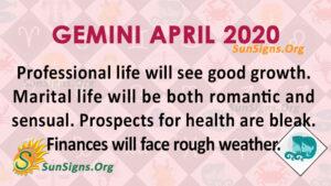 Gemini April 2021