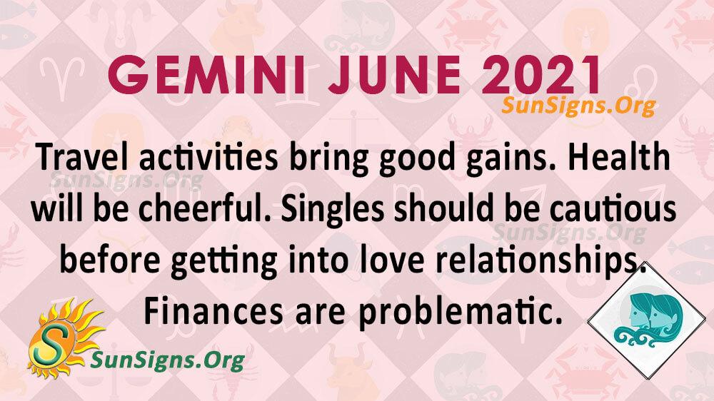 Gemini June 2021