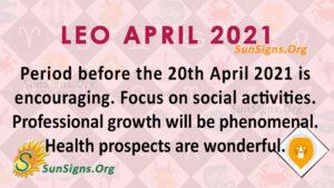 Leo April 2021
