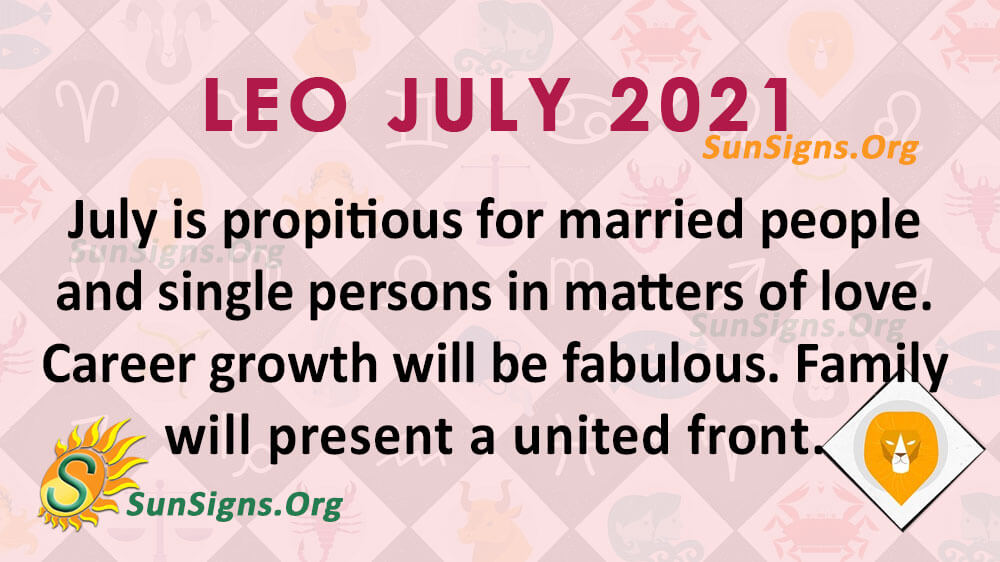 Leo July 2021