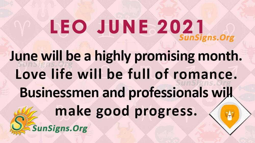 Leo June 2021