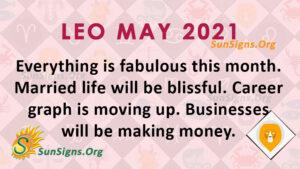 Leo May 2021