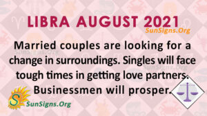 Libra August 2021