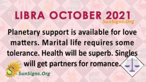 Libra October 2021