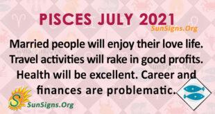 Pisces July 2021