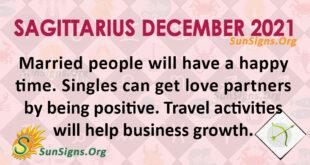 Sagittarius December 2021
