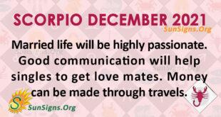 Scorpio December 2021
