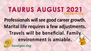 Taurus August 2021