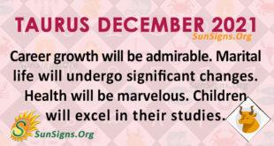 Taurus December 2021