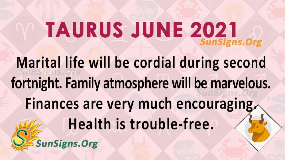 Taurus June 2021