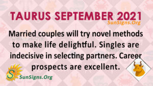 Taurus September 2021