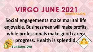 Virgo June 2021