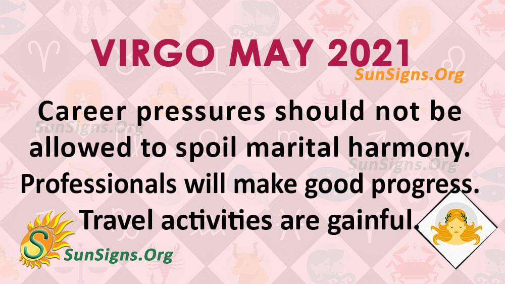 Virgo May 2021
