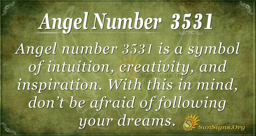 3531 angel number