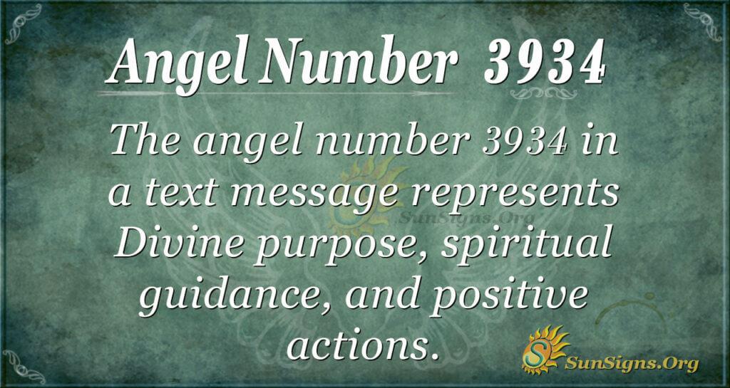 3934 angel number