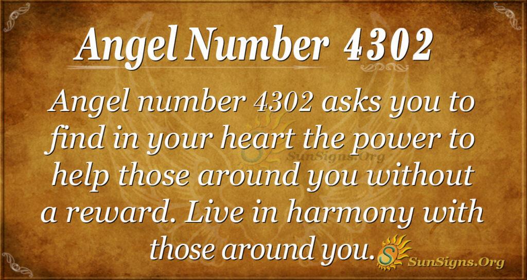 4302 angel number