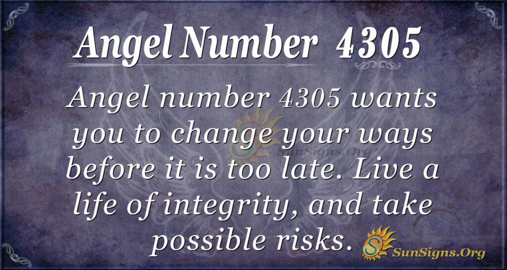 4305 angel number