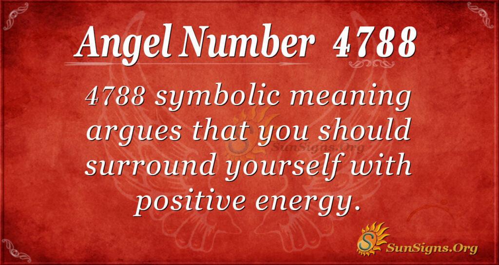 4788 angel number