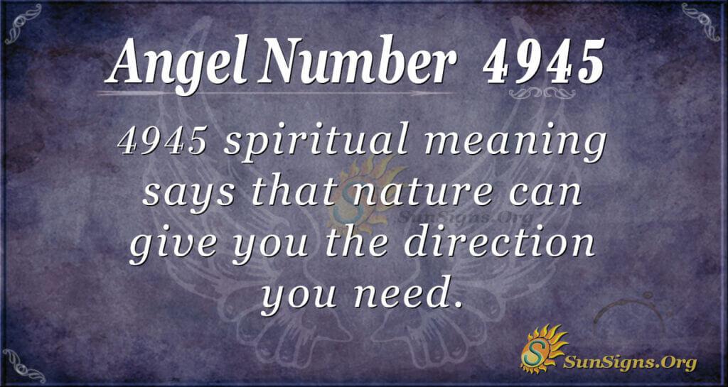 4945 angel number