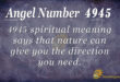 4945 angel number