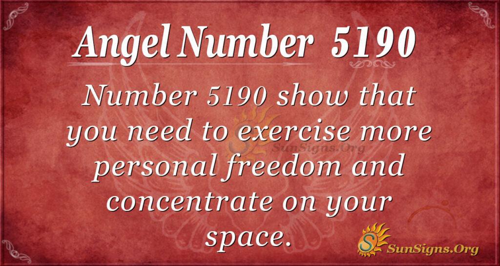 5190 angel number