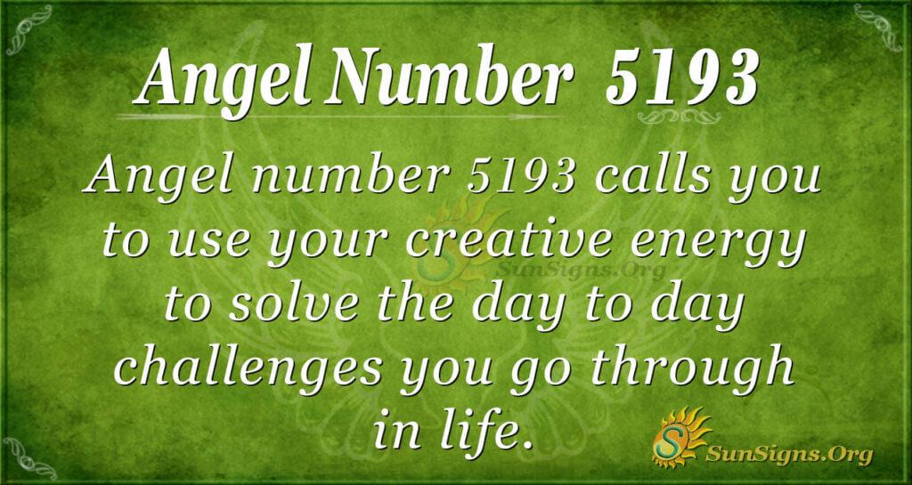 5193 angel number