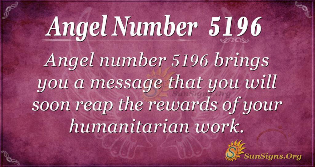 5196 angel number