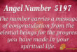 5197 angel number