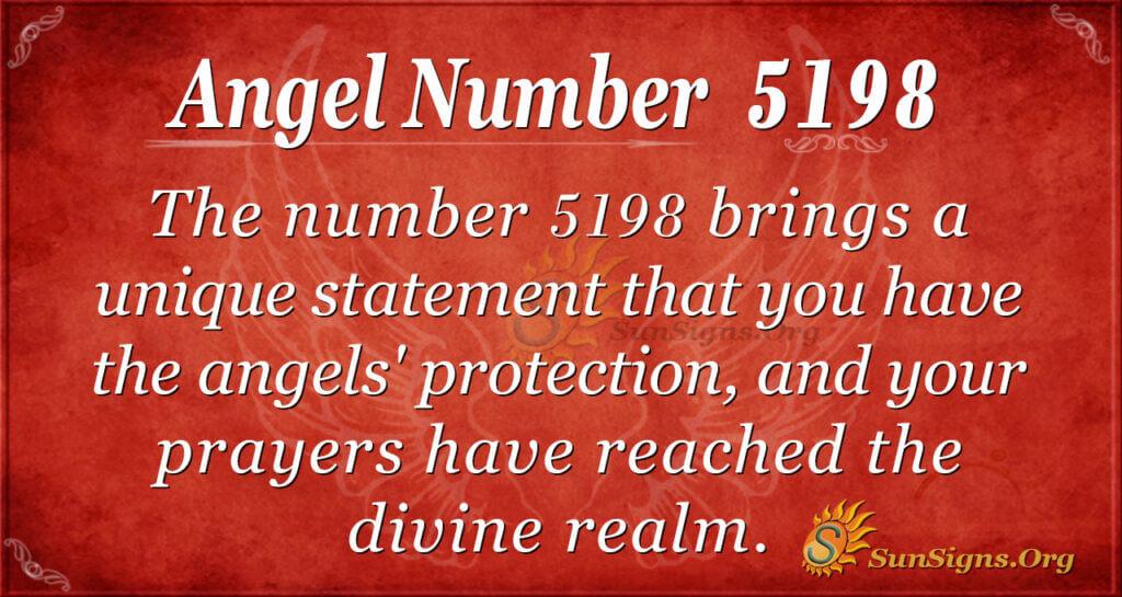 5198 angel number