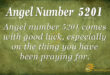 5201 angel number
