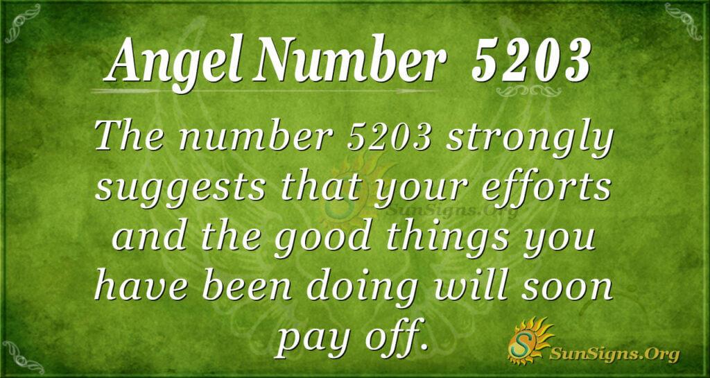 5203 angel number
