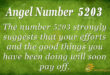5203 angel number