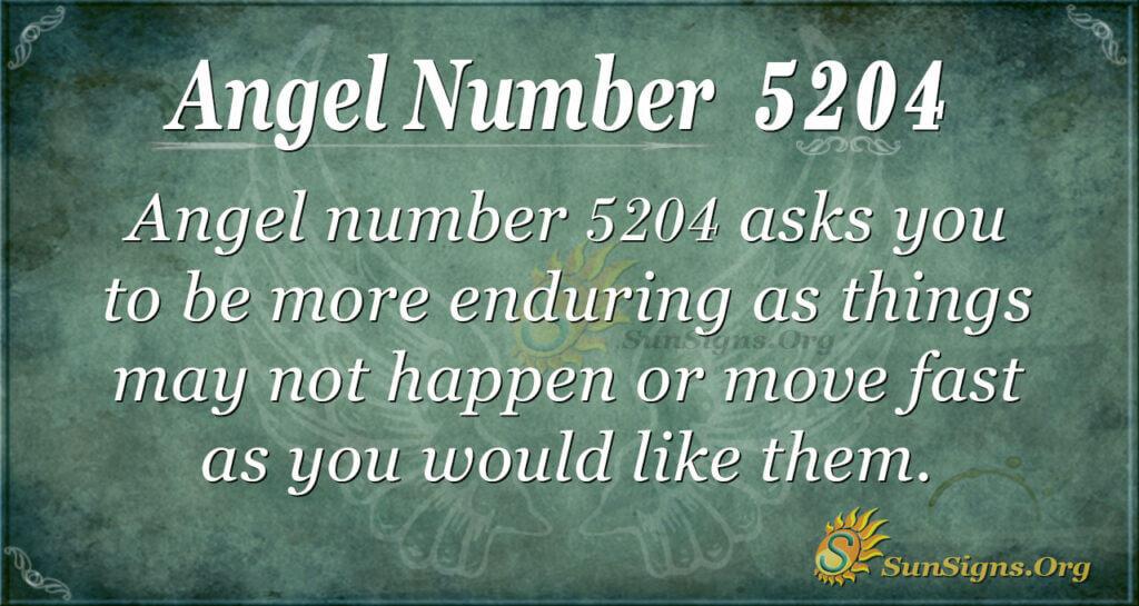 5204 angel number