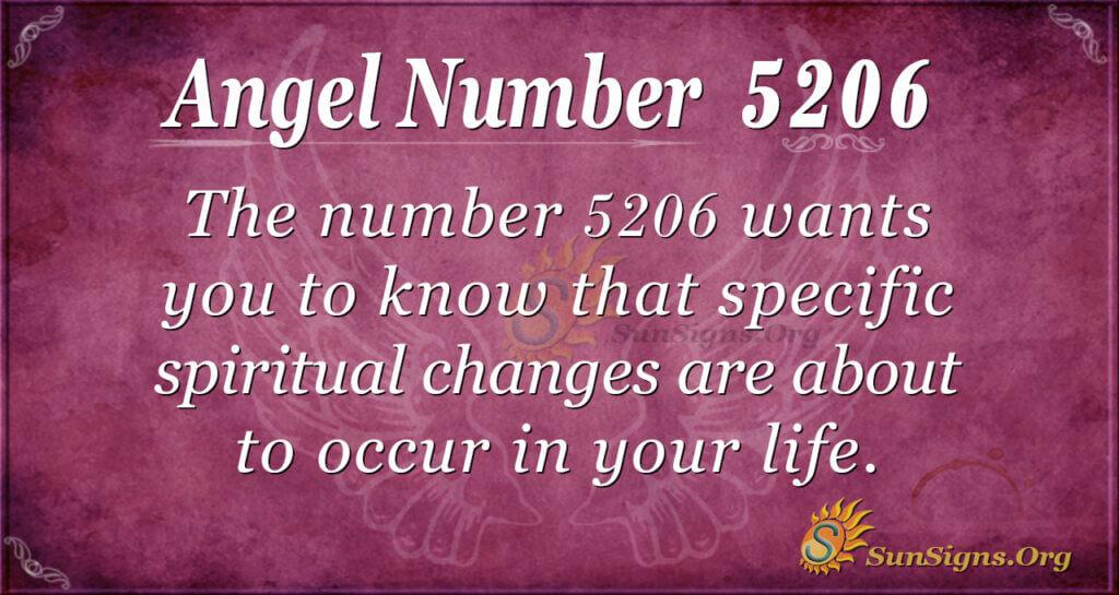 5206 angel number